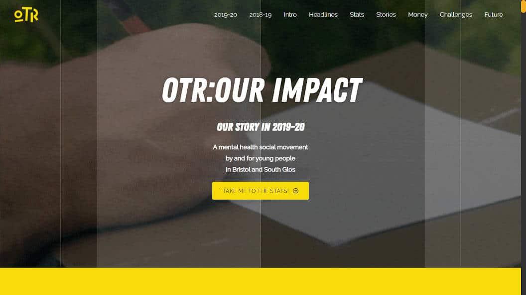 OTR Bristol Impact Report 2020   Free Range Web